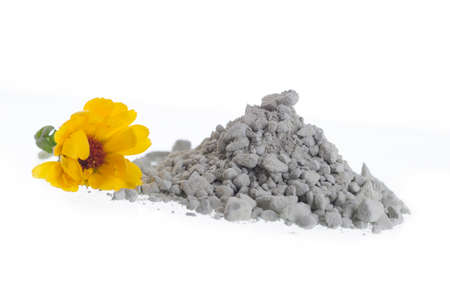 Cosmetic clay for  body care and spa treatments photo