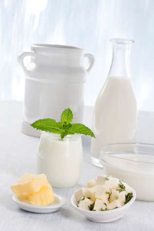 clair: Dairy Products,  Includes: Milk, Various Types of Cheese, Butter, Ricotta and Yogurt..
