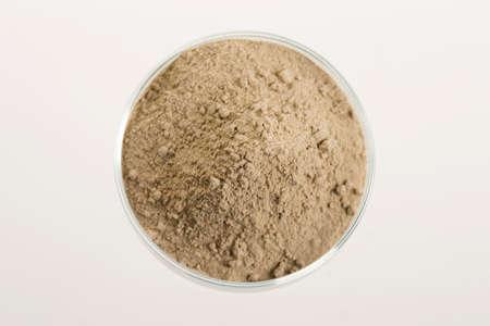フランス語緑色の粘土の皮膚の治療を使用する準備ができて