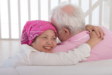 couple kissing and embracing in joyful happiness showing love