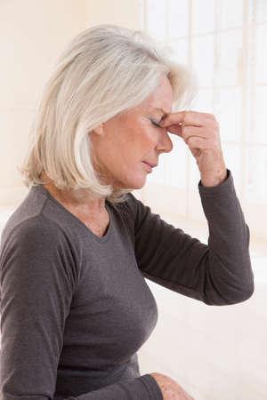 sinusitis: Senior With Sinusitis