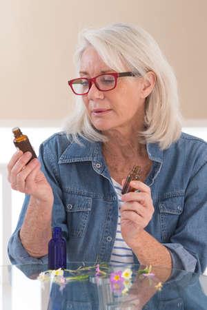 Herbal Medecine , woman