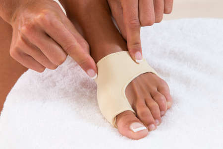 splint: burnion corrector de vendaje