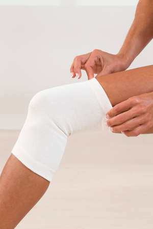 therapeutical: Support for knee injury