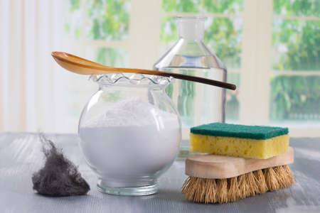 non toxic: Homemade green cleaning, Eco-friendly natural cleaners with baking soda