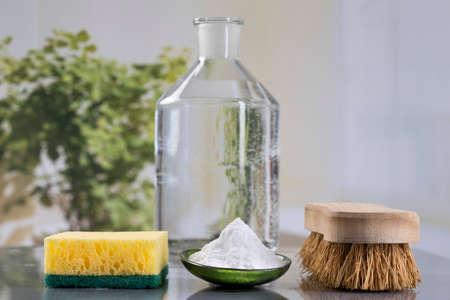 Homemade green cleaning, Eco-friendly natural cleaners with baking soda