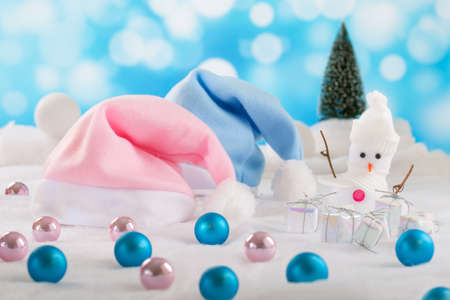 symbolization: symbolization of the first Christmas baby girl and boy