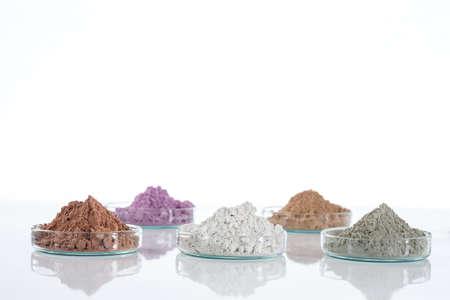 Dead Sea mud in a bowl for cosmetic  use Foto de archivo