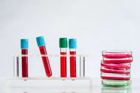 Laboratory research biochemistry and science