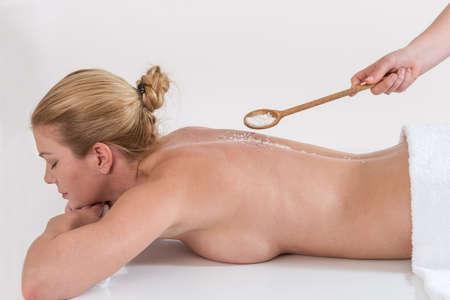 girls naked: красивый спа женщина расслабиться в приятной обстановке