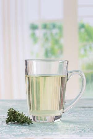 aromatic: Herbal tea. base on ffresh aromatic herbs