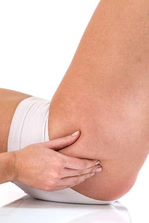 cuerpo perfecto femenino: Perfecto cuerpo femenino en busca de la celulitis