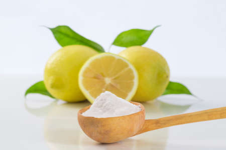 baking soda sodium bicarbonate and lemon for many uses