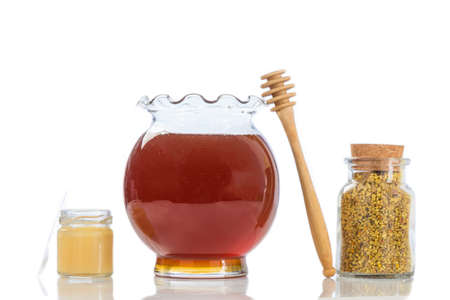 antimicrobial: Golden bee pollen with honey and pollen