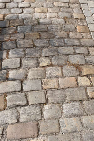 Close up of paving stones. Pathway to be used for backgrounds, textures , graphic editors 스톡 콘텐츠