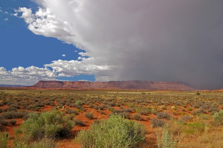 Canyonlands National Park Utah, Storm Stock Photo