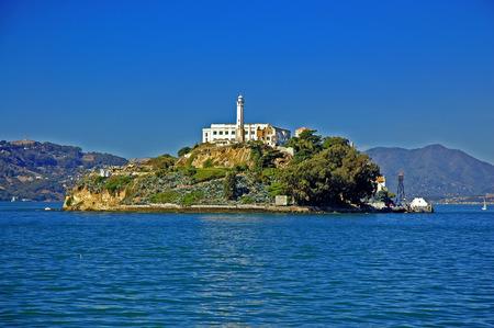 Alcatraz Prison, San Francisco, CA Stockfoto