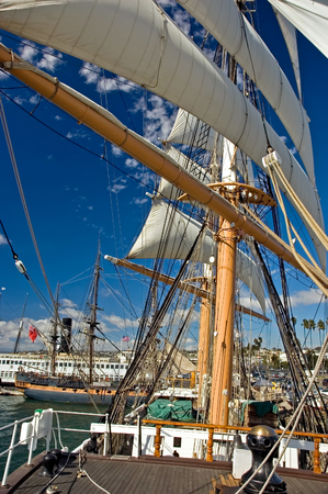 MastSailsRigging of Star of India at San Diego Maratime Museum