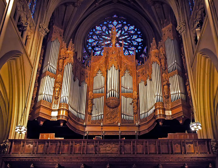 Organ at St. Patricks cathedral, NY