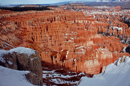 Bryce Canyon, Utah in Winter