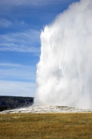 Old Faithful at Yellowstone NP