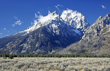Grand Teton NP after First Snow
