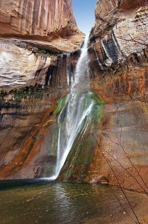 sitesee: Calf Creek Falls Late Afternoon