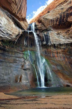 Calf Creek Falls Late Afternoon