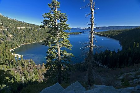 fannette: Lake Tahoe Nevada Emerald Bay in Fall