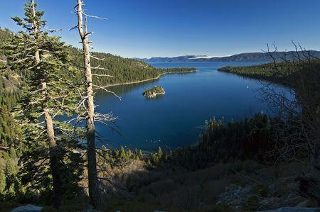 Lake Tahoe Nevada Emerald Bay Fannette Island