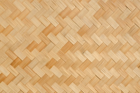 Thai pattern bamboo handcraft photo