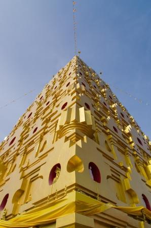 gaya: Bodh Gaya in Sangkhlaburi, Thailand Stock Photo