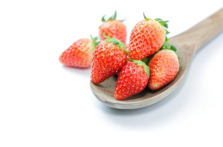strawberies: Red fresh strawberies