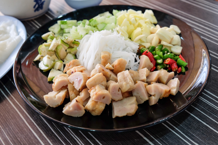 Vietnam food for healthy Stock Photo