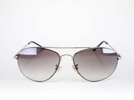 Aviator style sunglasses for men isolated on white Stock Photo - 18304375
