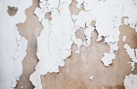 Wall paint damaged as the time passing by. The paint was peeled out. Stock Photo - 19913862
