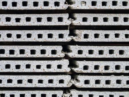 precast: Stack of precast concrete able