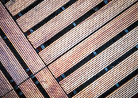tile able: Wooden floor tile able to use as architectural background Stock Photo