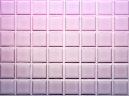 Mosaic tiles wall decoration in violet shade