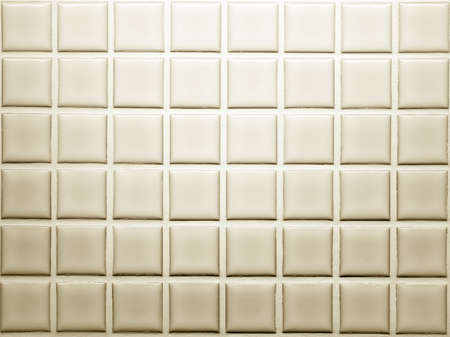Mosaic tiles wall decoration in brown shade