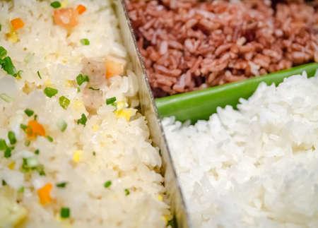 arroz: Variedad de arroz, arroz frito, arroz integral y arroz blanco