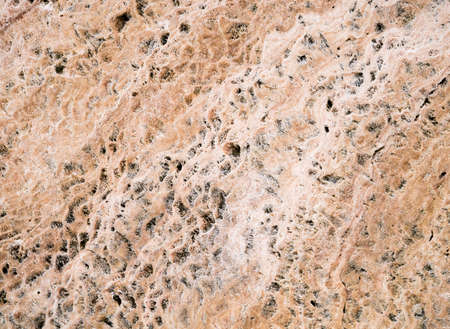 Closeup of the large brown stone able to use as a background