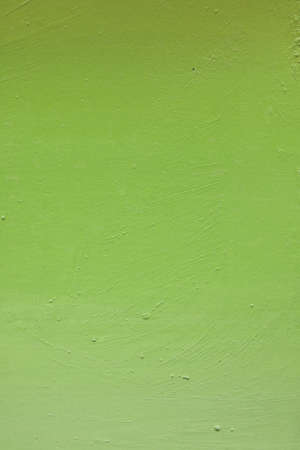 green painted on cement pot for background and wallpaper Stock Photo