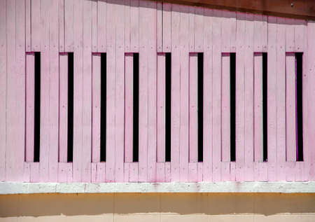 scrolling: beautiful light pink scrolling windows have many channel Stock Photo