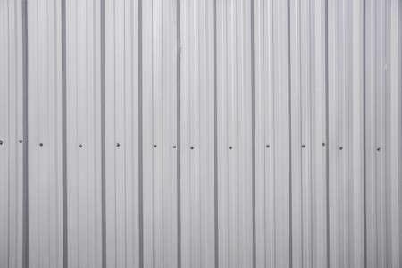 Muster Silber Blech Dach, Wand mit Mutter für die Industrie Hintergrund Standard-Bild - 26173907