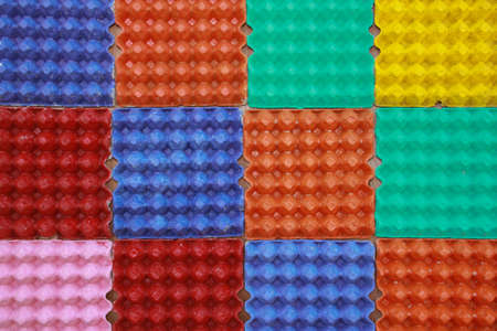 colorful eggs panel art for pattern texture photo