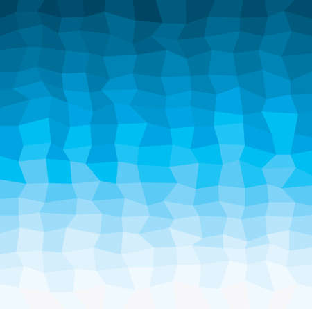 geometry water pattern, abstract square geometrical multicolored background, vector
