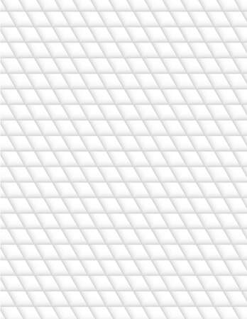 white abstract geometry pattern, seamless texture background Illustration