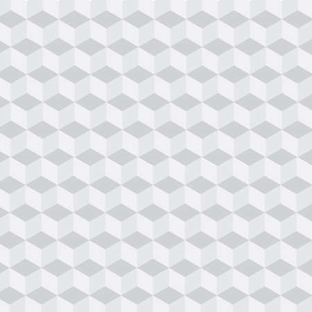 3d gray square geometric pattern for abstract background