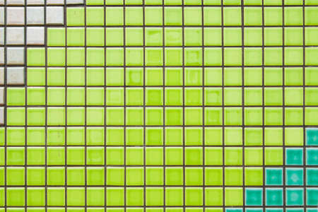 modern bathroom: colorful mosaic tile texture wall, decoration background